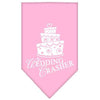 Doggy Stylz Dog-products Dog Bandanas Light Pink / Large Wedding Crasher Screen Print Bandana
