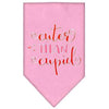 Doggy Stylz Dog-products New Light Pink / Large Cuter Than Cupid Screen Print Bandana