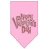 Doggy Stylz Dog-products New Pet Products Light Pink / Small Happy Valentines Day Rhinestone Bandana