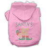 Doggy Stylz Dog-products New! Light Pink / Small Santa's Elf Rhinestone Dog Hoodie