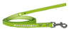Doggy Stylz Dog-products New Lime Green / 4' Long Clear Jewel Croc Leash 1/2'' Wide X Long