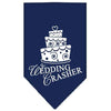 Doggy Stylz Dog-products Dog Bandanas Navy Blue / Large Wedding Crasher Screen Print Bandana