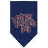 Doggy Stylz Dog-products New Pet Products Navy Blue / Small Happy Valentines Day Rhinestone Bandana