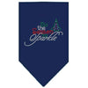 Doggy Stylz Dog-products New! Navy Blue / Small Tis The Season To Sparkle Rhinestone Bandana