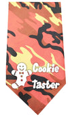 Doggy Stylz Dog-products New Pet Products Orange Cookie Taster Screen Print Bandana