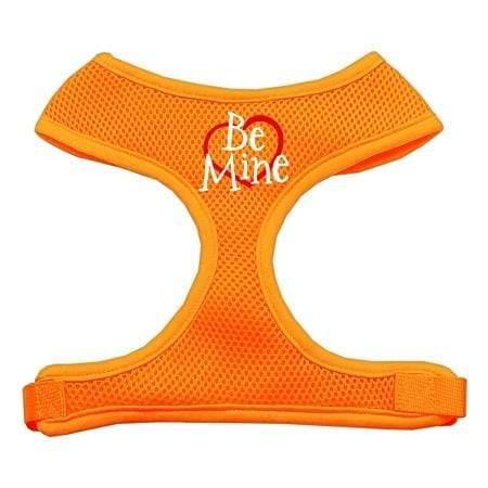 Doggy Stylz Dog-products Pet Harnesses Orange / Extra Large Be Mine Soft Mesh Harnesses