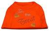 Doggy Stylz Dog-products New Pet Products Orange / Extra Small I'm The Treat Rhinestone Dog Shirt