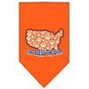 Doggy Stylz Dog-products Dog Bandanas Orange / Small God Bless Usa Screen Print Bandana