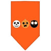 Doggy Stylz Dog-products New! Orange / Small The Spook Trio Screen Print Bandana