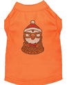 Doggy Stylz Dog-products New! Orange / XXL Hipster Penguin Rhinestone Dog Shirt