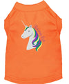Doggy Stylz Dog-products Unicorns! Orange / XXXL Unicorns Rock Embroidered Dog Shirt Aqua