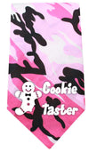 Doggy Stylz Dog-products New Pet Products Pink Cookie Taster Screen Print Bandana