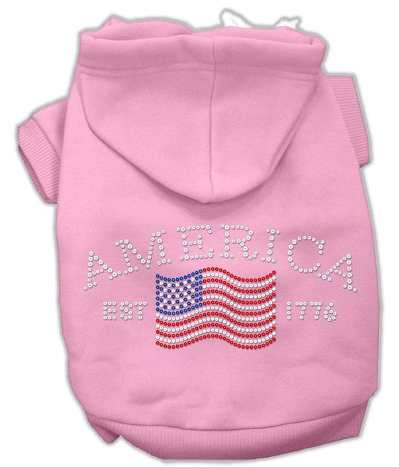 Doggy Stylz Dog-products Dog Hoodies Pink / Large Classic American Hoodies