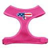 Doggy Stylz Dog-products New Pet Products Pink / Large Eagle Flag Screen Print Soft Mesh Harness
