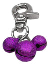 Doggy Stylz Dog-products Pet Charms Purple Lobster Claw Bell Charm