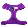 Doggy Stylz Dog-products New Pet Products Purple / Large Eagle Flag Screen Print Soft Mesh Harness