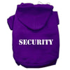 Doggy Stylz Dog-products Pet Apparel Purple Size W/ Cream Size Text / XXXL Security Screen Print Pet Hoodies Size Size