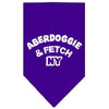 Doggy Stylz Dog-products Dog Bandanas Purple / Small Aberdoggie Ny Screen Print Bandana