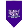 Doggy Stylz Dog-products Dog Bandanas Purple / Small God Bless Usa Screen Print Bandana
