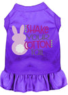 Doggy Stylz Dog-products New Purple / XXXL Shake Your Cotton Tail Screen Print Dog Dress