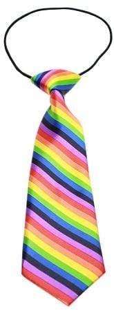 Doggy Stylz Dog-products Grooming Supplies Rainbow Big Dog Neck Tie