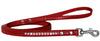 Doggy Stylz Dog-products New Red / 6' Long Clear Jewel Croc Leash 1/2'' Wide X Long
