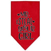 Doggy Stylz Dog-products New Red / Large Mr. Steal Your Girl Screen Print Bandana