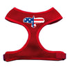 Doggy Stylz Dog-products New Pet Products Red / Large Eagle Flag Screen Print Soft Mesh Harness