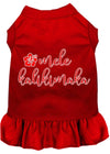 Mele Kalikimaka Screen Print Dog Dress - Doggy Stylz