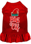 Doggy Stylz Dog-products New Red / XXXL Big Elf Screen Print Dog Dress