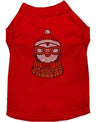 Doggy Stylz Dog-products New! Red / XXXL Hipster Penguin Rhinestone Dog Shirt