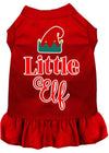 Doggy Stylz Dog-products New Red / XXXL Little Elf Screen Print Dog Dress