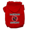 Doggy Stylz Dog-products New Pet Products Red / XXXL Backyard Security Screen Print Pet Hoodies