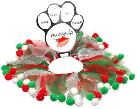 Doggy Stylz Dog-products Holiday Pet Products Small Christmas Fuzzy Wuzzy Smoocher