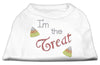 Doggy Stylz Dog-products New Pet Products White / Extra Small I'm The Treat Rhinestone Dog Shirt