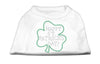 Doggy Stylz Dog-products Dog Shirts White / LARGE Happy St. Patrick's Day Rhinestone Shirts White