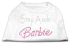 Doggy Stylz Dog-products Dog Shirts White / LARGE Step Aside Shirts White