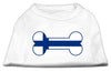 Doggy Stylz Dog-products Dog Shirts White / XXXL Bone Shaped Finland Flag Screen Print Shirts White