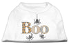 Doggy Stylz Dog-products New Pet Products White / XXXL Boo Rhinestone Dog Shirt