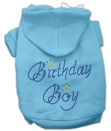 Doggy Stylz Dog-products Dog Hoodies Xtra Small Birthday Boy Hoodies Baby Blue