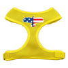 Doggy Stylz Dog-products New Pet Products Yellow / Large Eagle Flag Screen Print Soft Mesh Harness