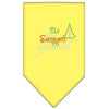 Doggy Stylz Dog-products New! Yellow / Small Tis The Season To Sparkle Rhinestone Bandana