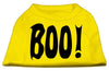 Doggy Stylz Dog-products Holiday Pet Products Yellow / XXXL Boo! Screen Print Shirts
