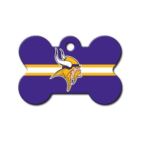 Minnesota Vikings Bone Id Tag