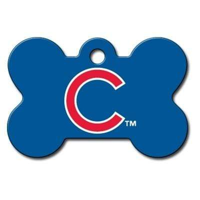 Hillman Group Dog-products MLB Chicago Cubs Bone Id Tag