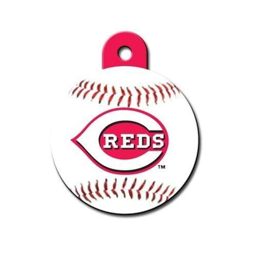 Hillman Group Dog-products MLB Cincinnati Reds Circle Id Tag