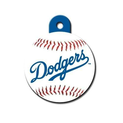 Hillman Group Dog-products MLB Los Angeles Dodgers Circle Id Tag