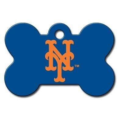 New York Mets Bone Id Tag