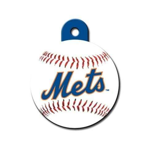 Hillman Group Dog-products MLB New York Mets Circle Id Tag