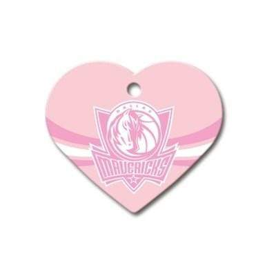 Hillman Group Dog-products NBA Dallas Mavericks Heart Id Tag